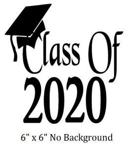Graduation Background 2020.Details About Class Of 2020 2021 Decal Sticker For Graduation Auto Diy 8 Glass Block Tile