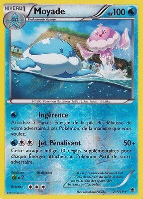 Funécire Reverse-XY04:Vigueur Spectrale 41//119 Carte Pokemon Neuve Française