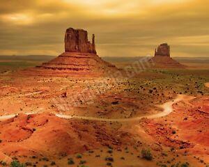 Quadro-legno-50-x-40-cm-stampa-in-alta-qualita-paesaggio-deserto-americano-Usa