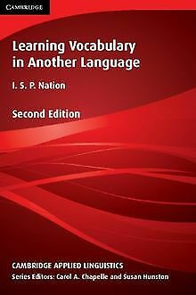Learning Vocabulary in Another Language (Cambridge Appli... | Buch | Zustand gut
