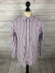 GANT-OXFORD-Shirt-Size-Medium-Striped-Great-Condition-Men-s