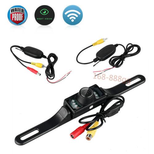 "Reverse Camera Night Vision Kit Wireless 5/"" Monitor Car Rear View System Backup"