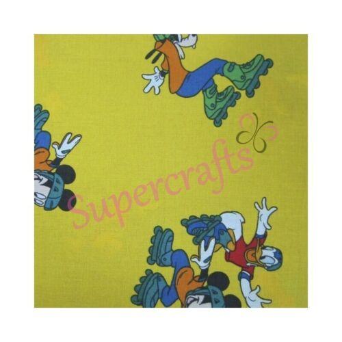 Supercrafts UK-Disney Tela de Algodón 62 cm de ancho