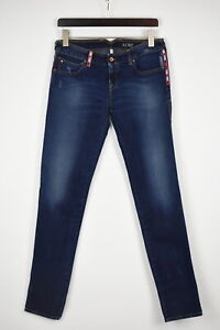 ARMANI Jeans 75J40 SLIM FIT Women's EU 30 Ripped Fade Effect Jeans 34829_GS