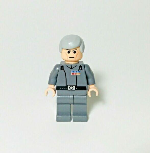 authentic LEGO minifigure Grand Moff Tarkin star wars sw0157 10188 6211