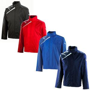 New-Puma-Spirit-Mens-Training-Football-Rain-Jacket-Full-Zip