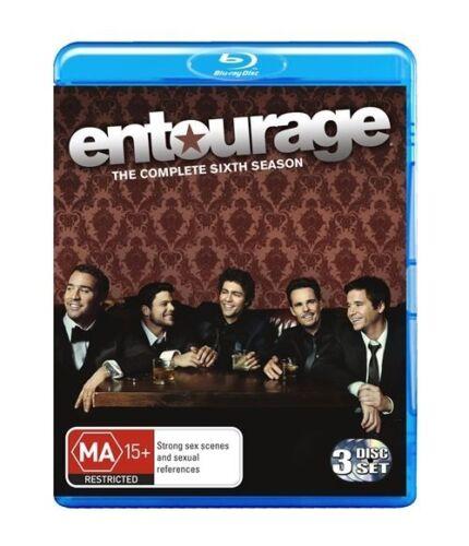 1 of 1 - Entourage : Complete Sixth Season 6 - Blu-ray - NEW+SEALED - fast free post