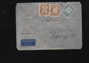 (a67993) 1937 Poste Aérienne Enveloppe Bolivie Munich-afficher Le Titre D'origine