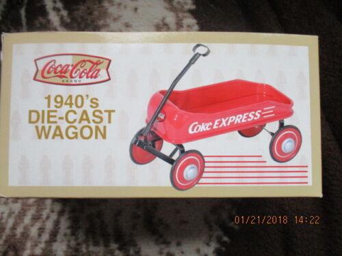 Coca Cola 1940s Coke Express Little Red Wagon