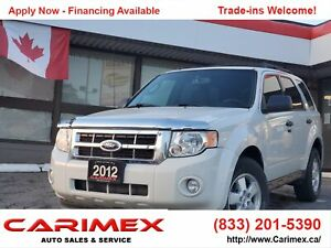 2012 Ford Escape XLT 4WD | Bluetooth | Power Seat