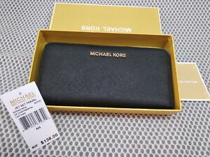 6978291973 Image is loading Genuine-Michael-Kors-Saffiano-Leather-Jet-Set-Travel-