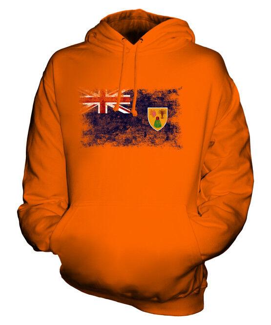 TURKS- UND CAICOSINSELN WEINLESE FLAGGE UNISEX UNISEX UNISEX KAPUZENPULLOVER HERREN DAMEN   Smart    Lass unsere Waren in die Welt gehen    Ich kann es nicht ablegen  c877e7