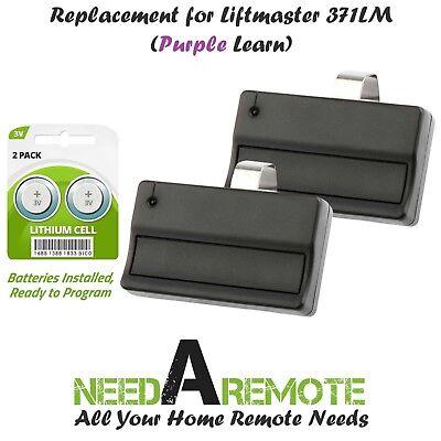 Replacement for Liftmaster 373LM Car Garage Door Remote Opener