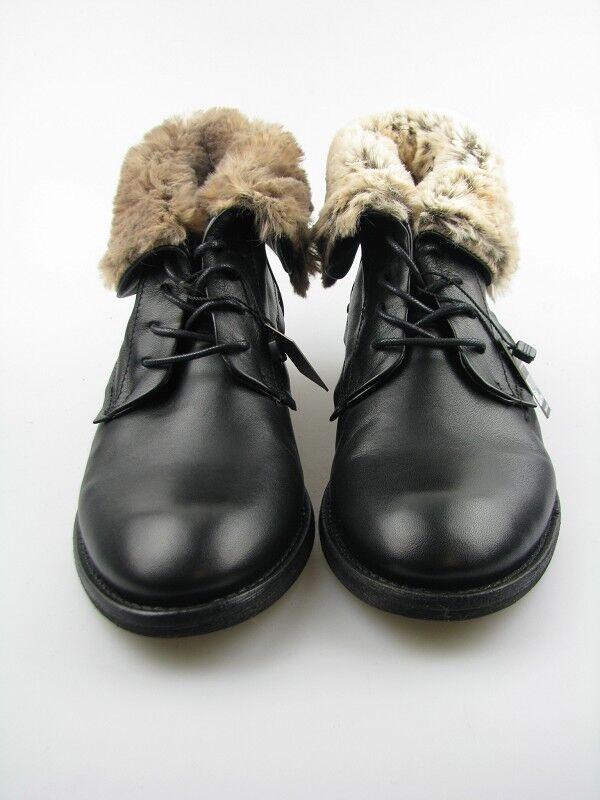 Daniel Hechter hj5652-1s femmes bottes en noir en cuir Taille 39