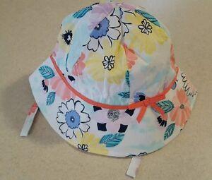 Old Navy Girls Sun Hat 6-12 12-24 MONTHS 2T-3T 4T-5T Polka Dot BEIGE BLACK New