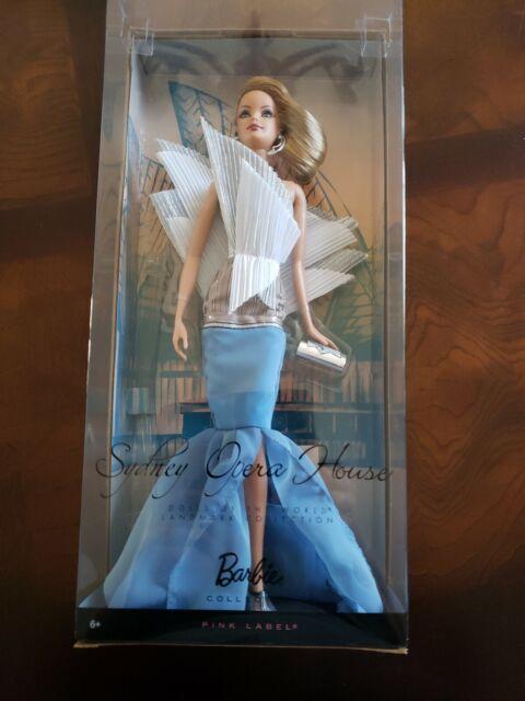 Pink Label Landmark NEW Barbie Collector Dolls of the World Sydney Opera House