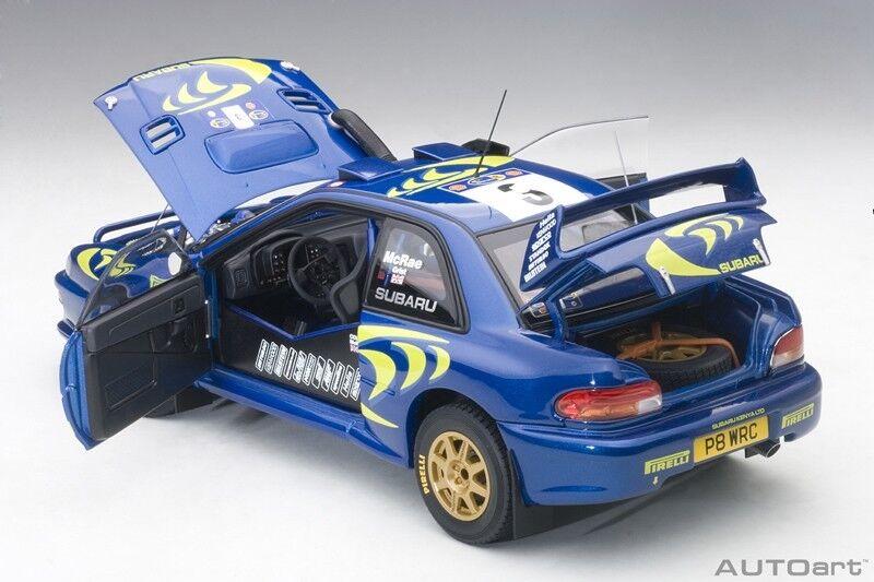 Autoart Subaru Impreza WRC 1997  3 Colin Mcrae   Nicky grist Rally de Safari