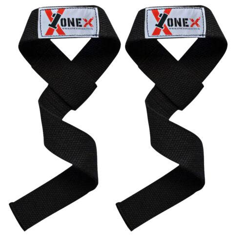 Onex  Weight Lifting Straps Training Gym Gloves Hand Bar Gel Wrist Support