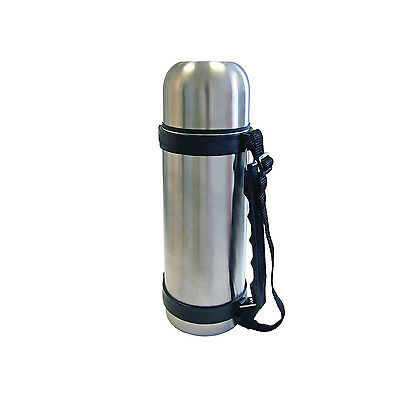 Half Litre / 500ml Stainless Steel Vacuum Thermos Bullet Flask 0.5L HOT & COLD