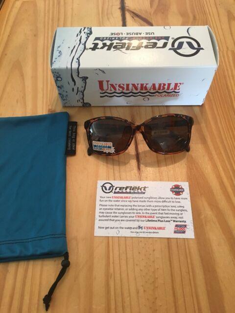 8c059180693 Reflekt Unsinkable Polarized Sunglasses Karma - Honey Tort With ...