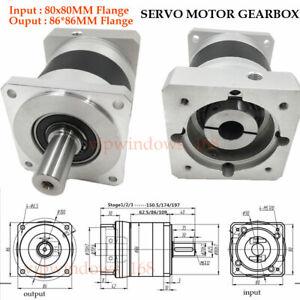 Nema 34 86 Planetary Gear Box Gearhead 5:1 15:1 25:1 50:1 100:1 Speed Reducer