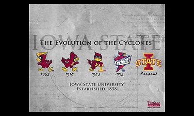 NCAA Iowa State Cyclones Wall Bottle Opener