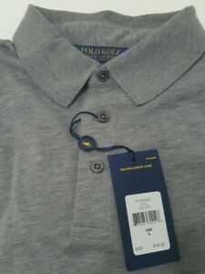 NEW-RALPH-LAUREN-POLO-GOLF-LONG-SLEEVE-SHIRT-GREY-SIZE-L-MENS-LARGE-NWT-MSRP-145