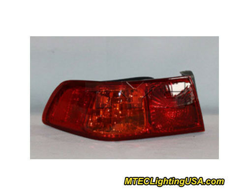 TYC Left Side Tail Light Lamp Assembly for Toyota Camry 2000-2001 Models
