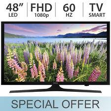 """Samsung 48"""" Inch Full HD 1080p Smart LED LCD TV 60Hz w/ 3 HDMI & USB - UN48J520D"""