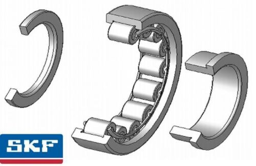 NUP204ECP 20x47x14mm SKF Single Row Cylindrical Roller Bearing