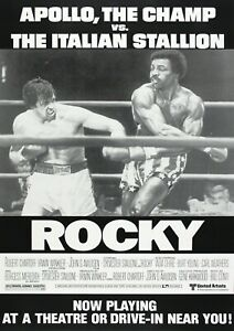 Rocky-Movie-Film-Photo-Print-Poster-Picture-Wall-Art-Sylvester-Stallone