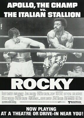 Rocky Movie Film Photo Print Poster Picture Wall Art Sylvester Stallone