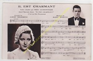 RPPC-STAR-Meg-Lemonier-amp-Sheet-Music-It-Is-Charming-Edit-P-C-4