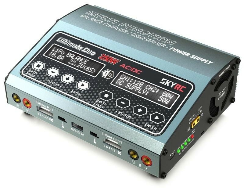 Skyrc duoladegerät d250 ac dc lipo 1-6s 10a 250w  sk100129