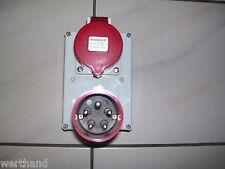 Stromverteiler 32A-6h Mennekes 88764 Steckdose auf  Kuppplung