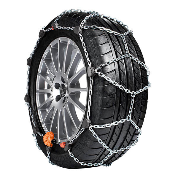 SNOW TIRE CHAINS WEISSENFELS Rex Compact Sport GR. 35 195/50-16 12 mm THICKNESS