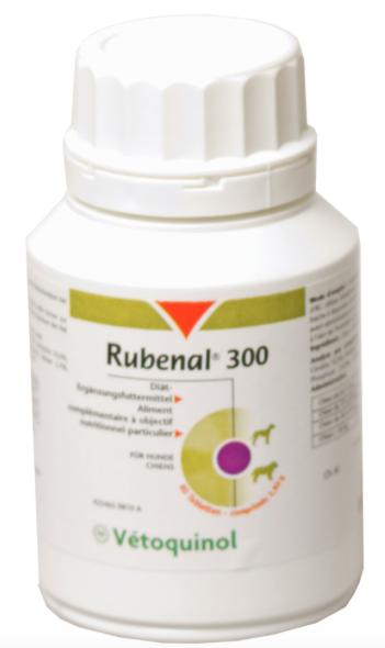 Vetoquinol Rubenal 300 renal kidney kidney kidney supplement cats dogs  18lbs- all natural 186bf5