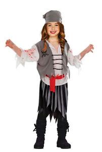 Kostüm Halloween grau Pirat Geister Zombie l1cTJFK