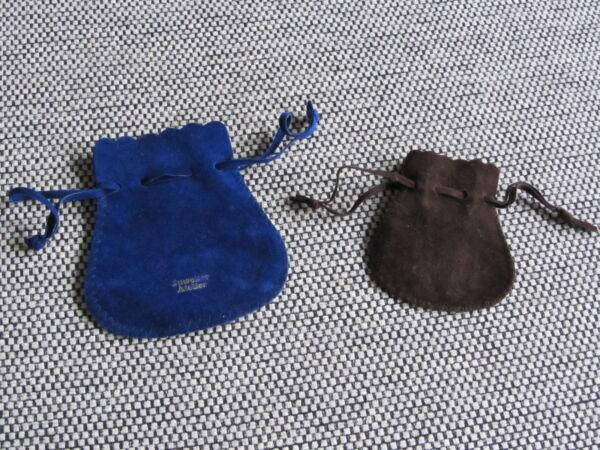 FäHig 2 Samtsäckchen Für Schmuck, Aufbewahrung Oder Zum Verschenken GläNzende OberfläChe