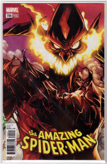 THE AMAZING SPIDER-MAN #799 1st Print Humberto Ramos Variant Red Goblin *HOT*