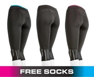 Ladies-3-4-Compression-Tights-Gym-Clothing-Running-Capri-Pants-Skin-Sports-Socks