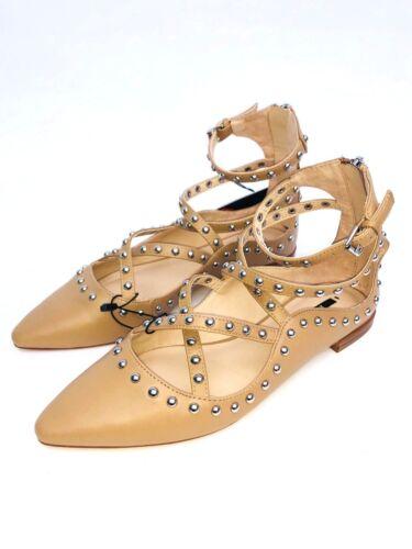 8 Studded 7 Ballerinas Uk Misura Flat 4 6 Nude 5 3 Shoes Zara tP5w7qW