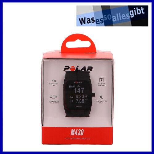 SCHNÄPPCHEN! Polar M430 GPS Sportuhr Activity Tracker \ schwarz \ #U 4170