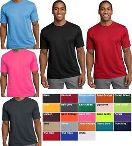 NEW-Men-039-s-SPORT-TEK-Dri-Fit-T-Shirt-Polyester-Tee-Running-Workout-S-3XL-L-XL-2XL
