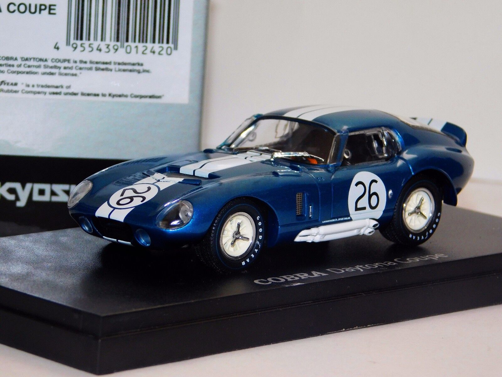 SHELBY COBRA DAYTONA COUPE  26 KYOSHO 03051C 1 43
