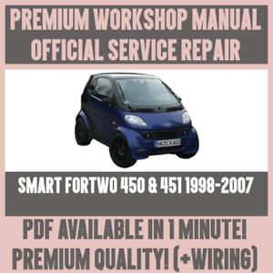 workshop manual service repair guide for smart fortwo 450 451 rh ebay co uk Bose Car Amp Repair car amplifier repair guide pdf