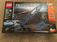 Brand New LEGO Technic 42042 Technic Crawler Crane New Sealed (1401 PCS) Fun