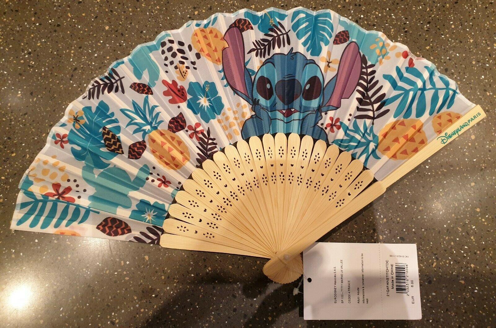 21q4 fan/fan stitch tdc disneyland paris