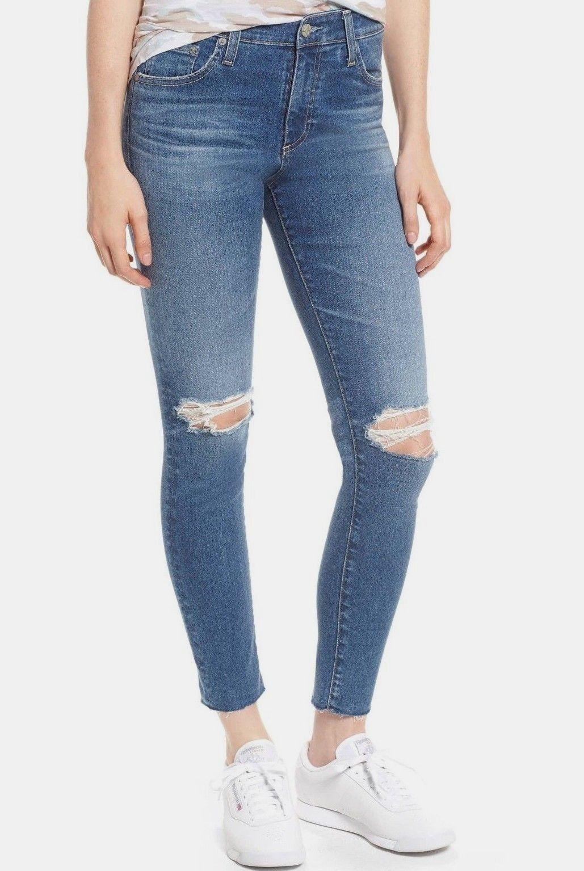 225 Nuevo con etiquetas ADRIANO oroSCHMIED Sz27 el Hi-Rise  Skinny de Farrah Tobillo Jeans 13 ystw  calidad garantizada