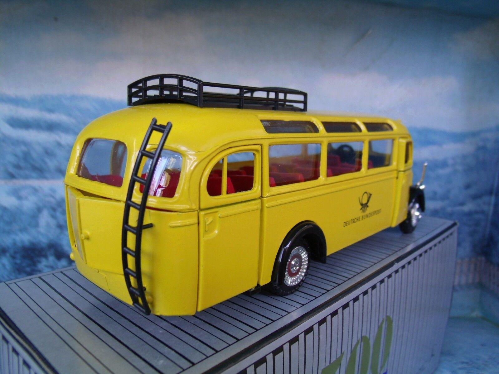 1 40 NZG (Germany) No.218 No.218 No.218 Mercedes Benz Omnibus O 3500 1949 Germany post 44bd1e